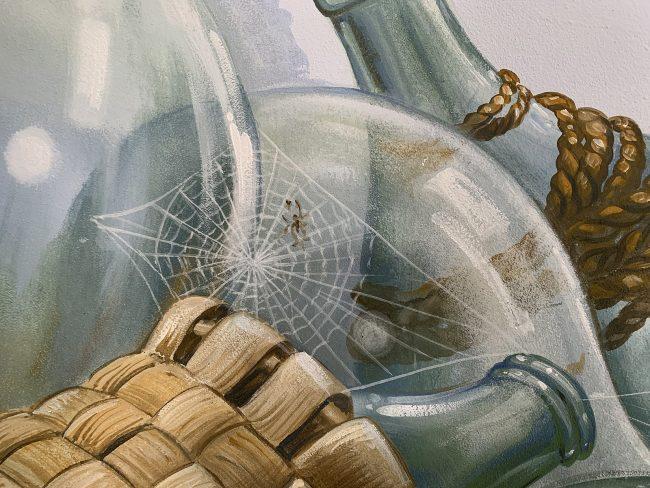 decori bottiglie damigiane
