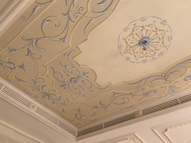 Decori classici soffitti