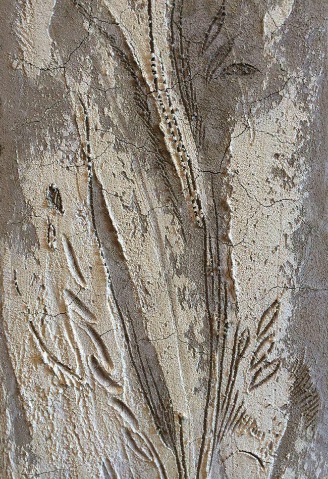 Maurizio Magretti - decorazioni a sgraffito con esperimento in rilievo