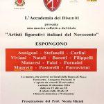 Mostra Artisti figurativi italiani del Novecento