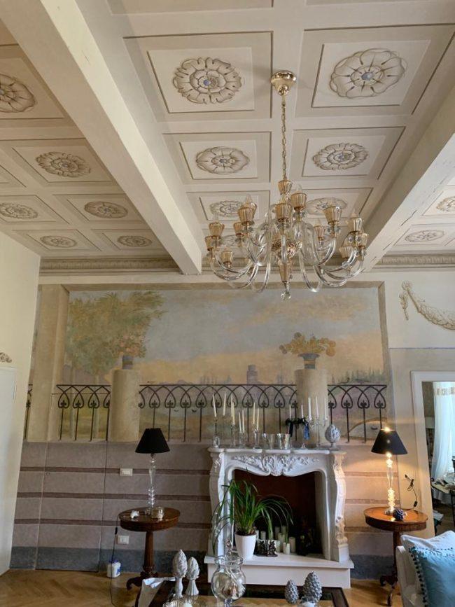 maurizio magretti pittore decorazioni classiche soffitto