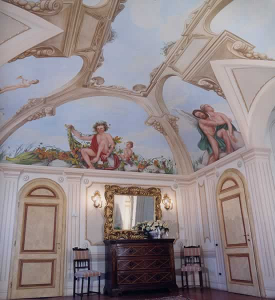 4 Stagioni - affresco - Villa San Marco
