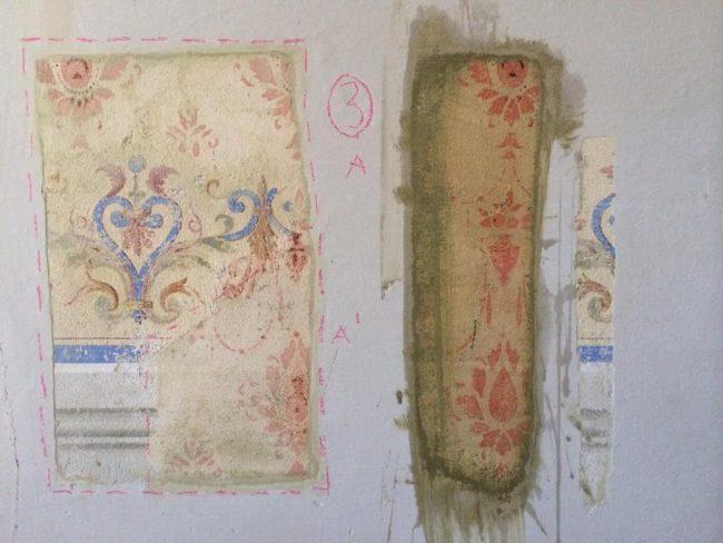 restauro soffitti portali pareti affreschi maurizio magretti pittore